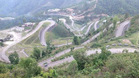 Sindhuli Road Construction
